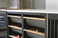 Custom Cabinets Keep Produce Fresh