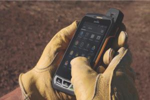 The Sonim XP7 is the opposite of dainty—an ultra-rugged, Android smartphone featuring a 4-inch touch screen that can be viewed in direct sunlight and operated with wet work gloves. Its 4,800 mAh battery is rated for 40 hours of talk time. No surprise: It's pricey.
