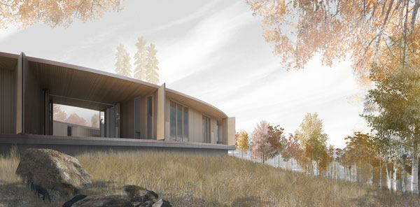 Exterior rendering.