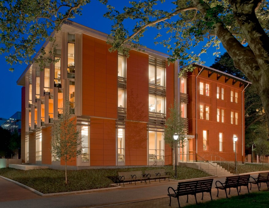 The Music Building Addition
