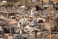 California Wildfire Destroys 96 More Homes