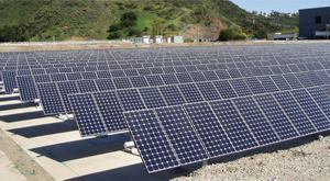 Photovoltaic panels produce electricty for about 30 years for up to 25% less than current utility rates. Photo: City of Thousand Oaks, Calif.