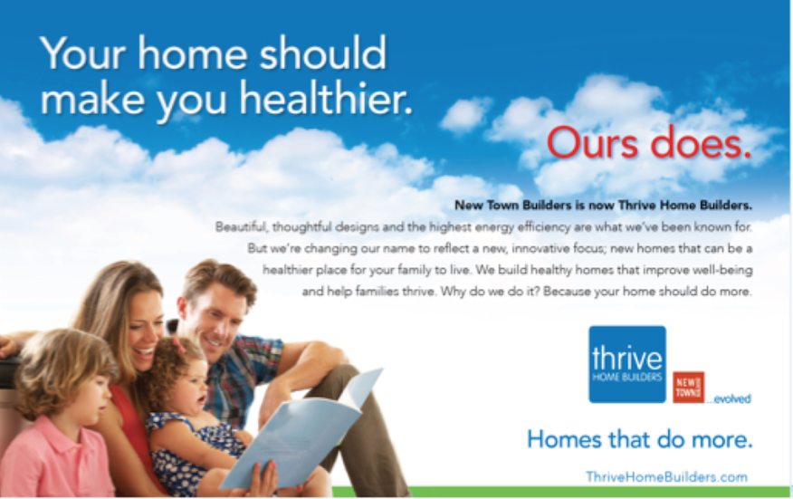Thrive Builders ad