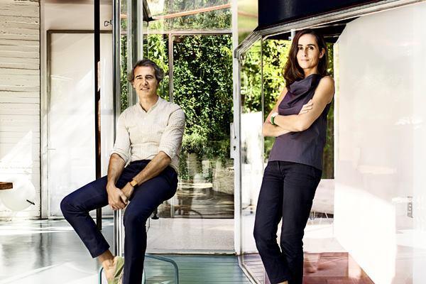 José Selgas and Lucía Cano