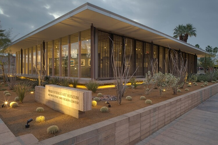 Palm Springs Art Museum, Edwards Harris Pavilion, Palm Springs, Calif.