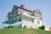 tick hall reconstruction, montauk, n.y.