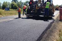Fibers strengthen asphalt