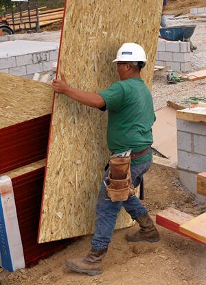 LP Building Products has been making OSB structural panels for more than 30 years. The company says it can formulate panels to meet a variety of needs, uses, and locations.