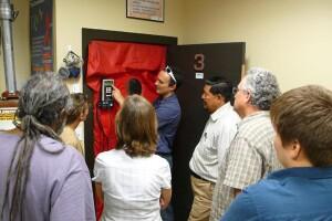 Classroom Blower Door photo.  (PRNewsFoto/Corbett Lunsford)