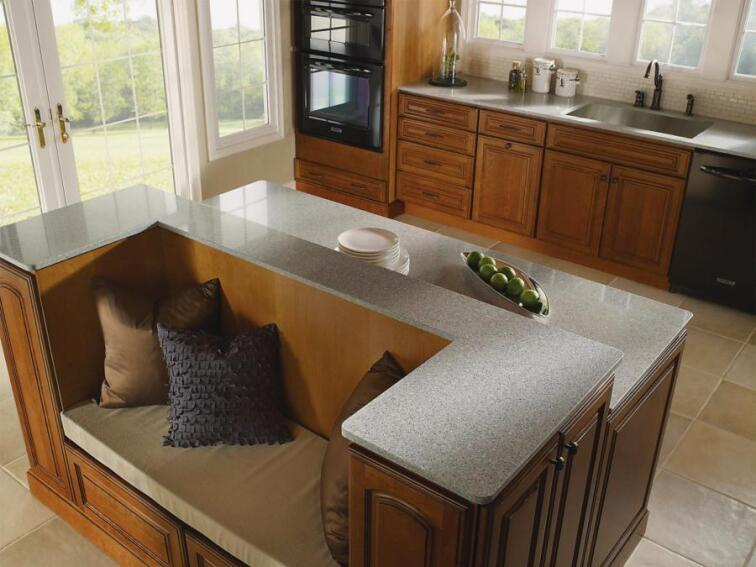 Upgrade Kitchens and Baths With New Countertops From J. Aaron, DuPont, Silestone, Wilsonart, and Julien.