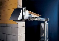 Sidewall vent systems eliminate  chimneys, Provide Venting Flexibility