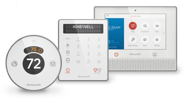 Honeywell introduced its Lyric home-security system at the International Consumer Electronics Show in Las Vegas last week.