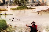'Glimpses of New York and Amsterdam in 2040'