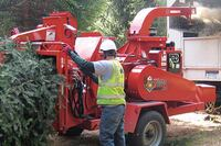 Morbark Beever M15R brush chipper