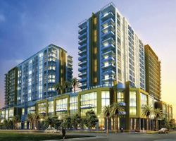 Morrison Condominiums in Miami is one of several projects advanced by leveraging larger-than-normal construction loans.
