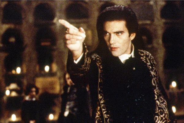 A still image from Interview with the Vampire.