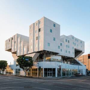 The Star Apartments, a Skid Row affordable housing project built by Guerdon Modular Buildings of Boise, Idaho.