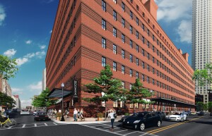 Modera Lofts in Jersey City, N.J. is being rehabbed by Mill Creek Residential Trust.