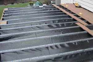 Low Cost Deck Drainage Landscape Membrane And Off The