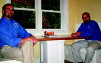 Stephen (left) and Edward Rudloff of Rudloff Custom Builders.