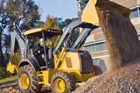 John Deere Construction and Forestry Divison + K-Series Backhoe Loaders