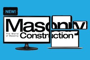 Welcome to the New Masonry Construction Online!