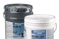 Fast-drying steel water pipe coatings