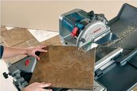 Bosch Power Tool's TC10 Wet Tile and Stone Saw