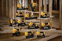 DeWalt Introduces a New Line of Nailers and Staplers