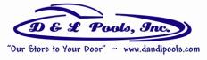 D & L Pools Logo