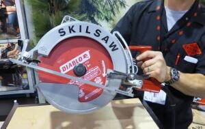 """Skilsaw 10 1/4-inch worm drive saw """"Sawsquatch"""""""