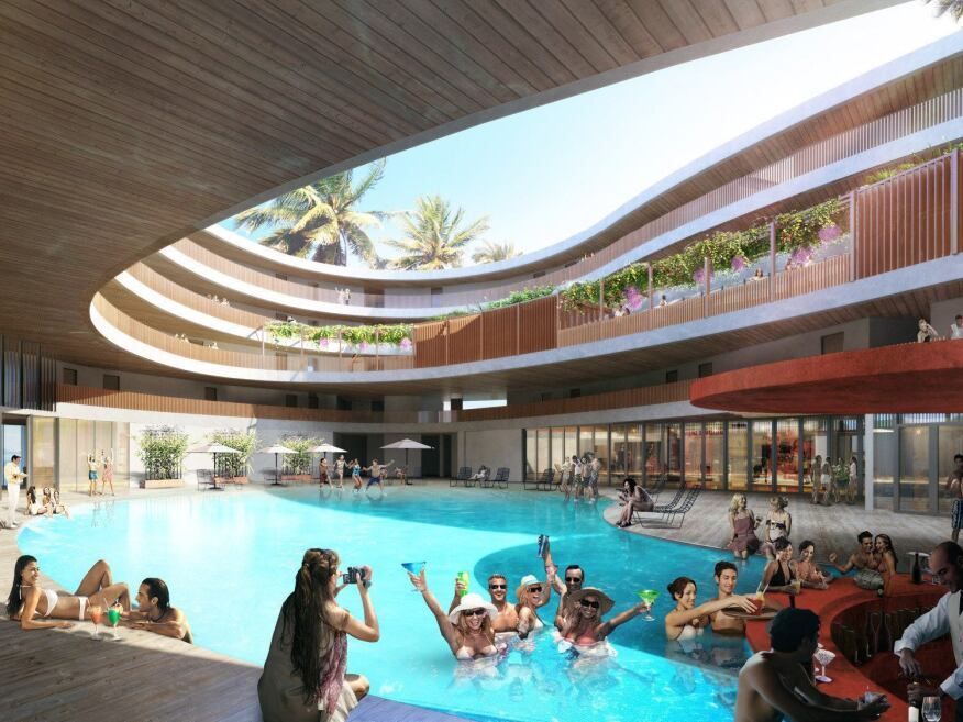 Hue Hotel, Boracay, Philippines, with NSInc Architecture Planner Consultancy.