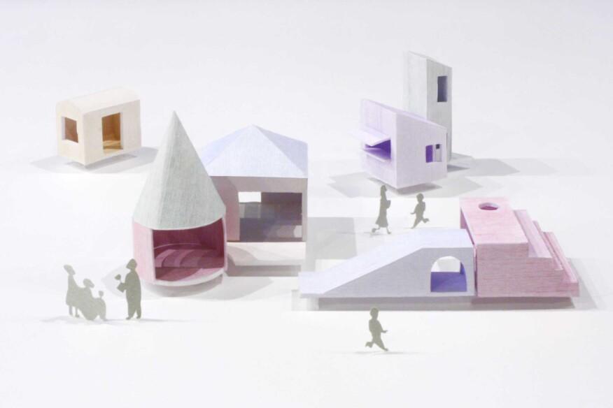 Children's Town, Onishimaki + Hyakudayuki Architects' contribution to the Chicago Biennial