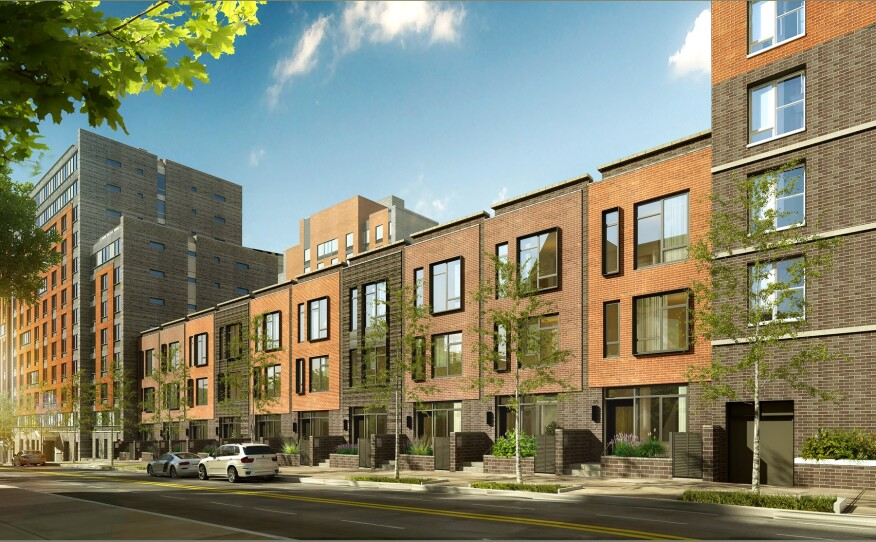 Brooklyn, mixed-income, mixed-use, townhouses, rental buildings