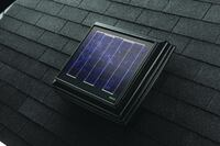 Solar-Powered Attic Ventilator From Broan