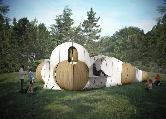 Torqueing Spheres by IK Studio