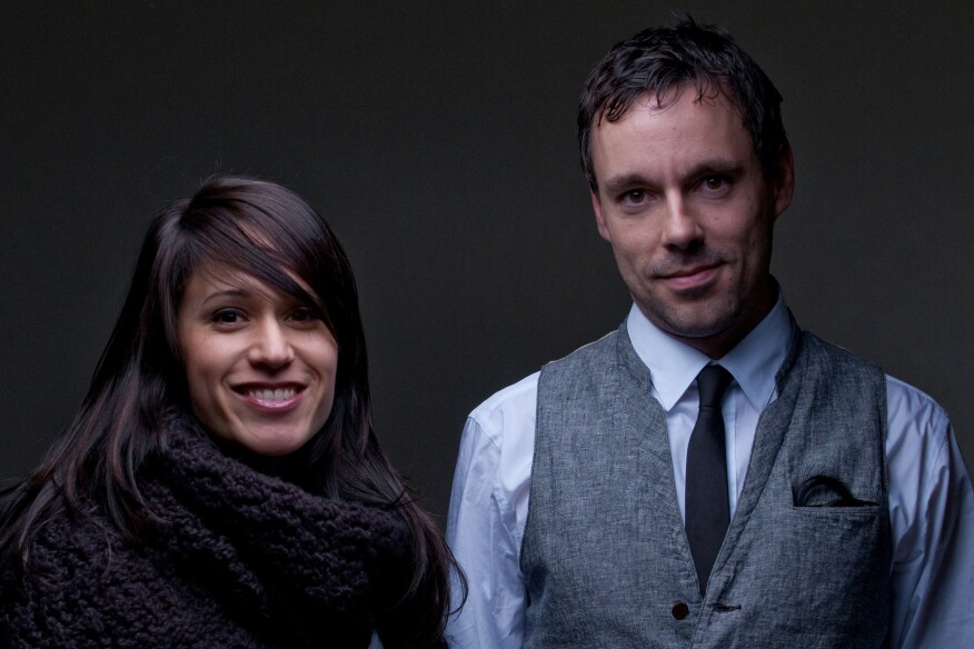 Monica Adair and Stephen Kopp of Acre Architects