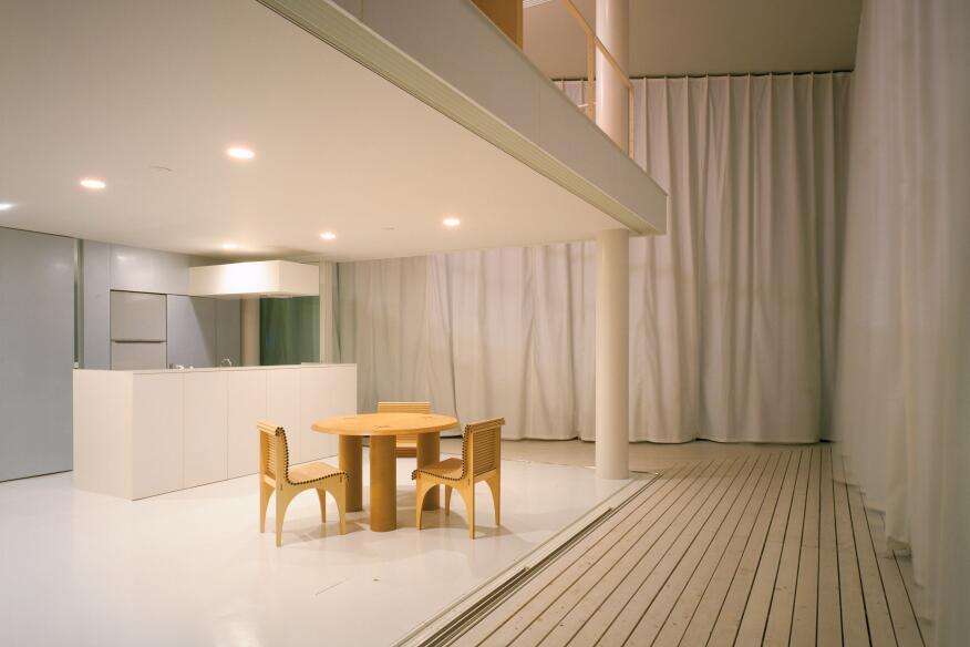 Curtain Wall House, Tokyo, 1995.