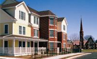 The 200-unit Dutch Point in Hartford, Conn., is a Hope VI project.