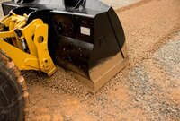 Performance Series Flat-Floor Buckets for Cat Small Wheel Loaders