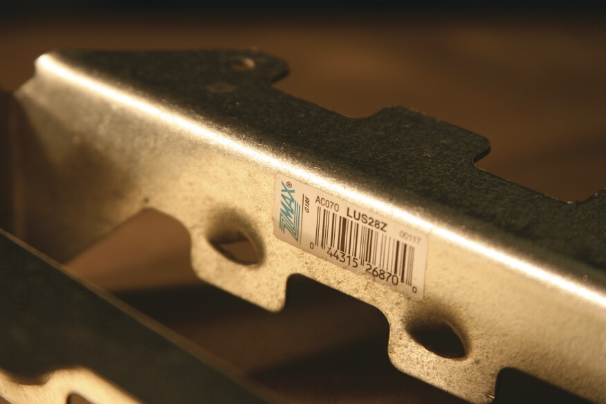 While metal hardware with a G185 zinc coating is generally acceptable for use with PT lumber rated for above-ground use (UC3B), PT lumber rated for ground contact (UC4A) may require metal hardware with more corrosion resistance.
