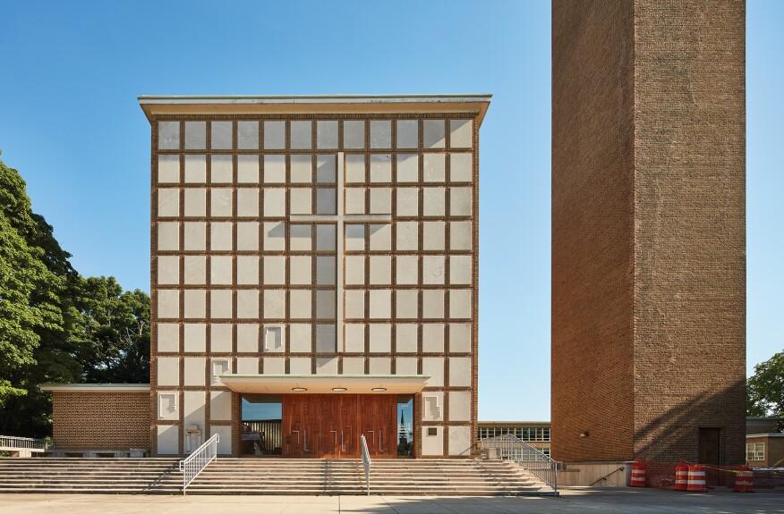 Eliel Saarinen's First Christian Church
