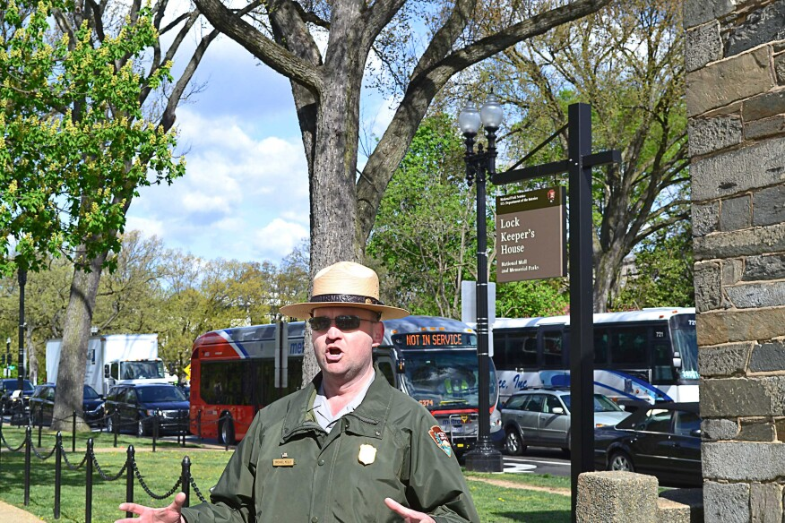 National Park Service ranger Michael Kelly