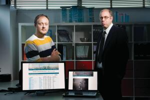 "The Web cuts both ways for the council. ""The moment [someone] presents a number, that number becomes the 'truth,'"" says research and communications manager Jan Klerks (left). ""If you have an official number after that, it takes some effort to get it recognized."" On the other hand, notes Marshall Gerometta, making the council's data accessible ""invites people to contribute information that's missing or incorrect in our database."""