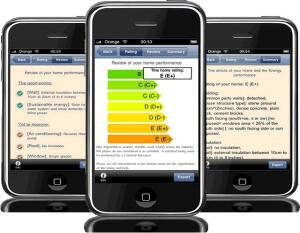 Qreative Medias' Home Energy Performance app for iPhone and iPad.