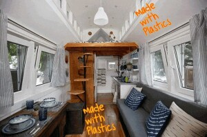 Plastic House is a tiny house
