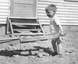 John Ries at age 2.
