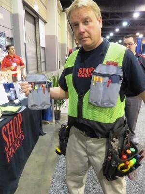 Shop Pockets tool vest system