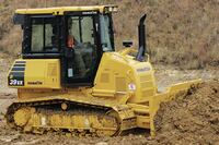 Komatsu America Corp. + D37-23 crawler dozer