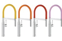 Grohe Launches Colorful Faucet Collection